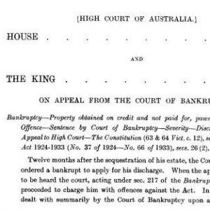 house v king case decision jurisprudence 25 most cited cases in history citation