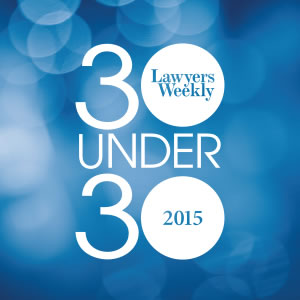 Lawyers Weekly 30 Under 30