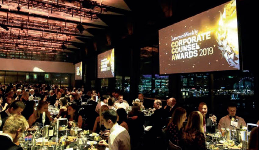 Corporate Counsel Awards 2019