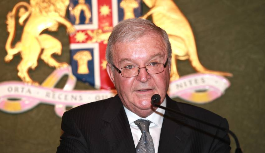 Chief Justice Tom Bathurst