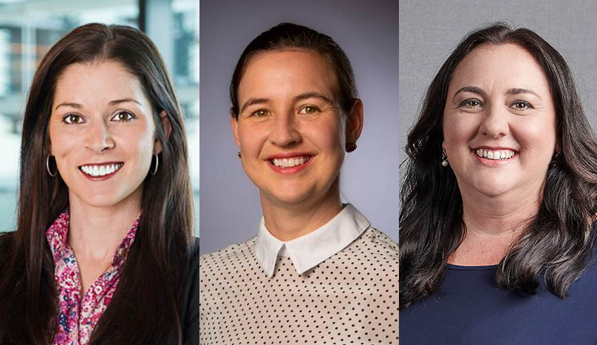 Courtney Robertson, Rebecca Haynes, Alexandra Grayson