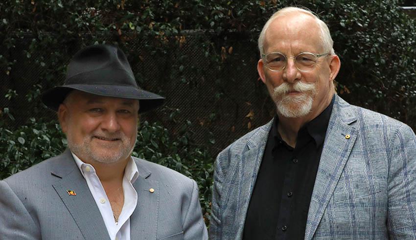 Deen Sanders and Steve Mark