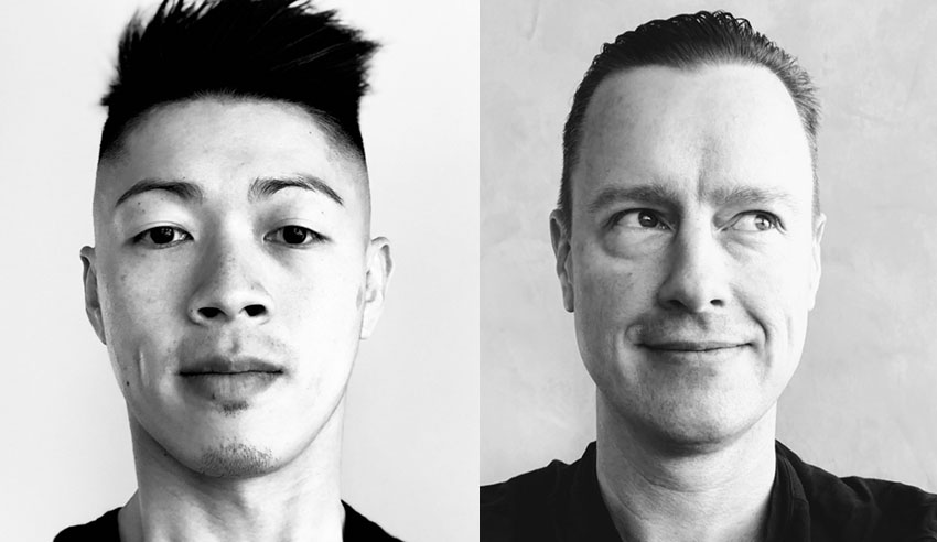 Alpha Creates Eric Chin and Graeme Grovum