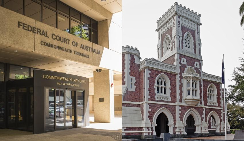 Australian and New Zealand courts
