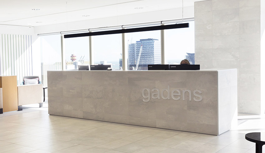 Gadens hires senior counsel
