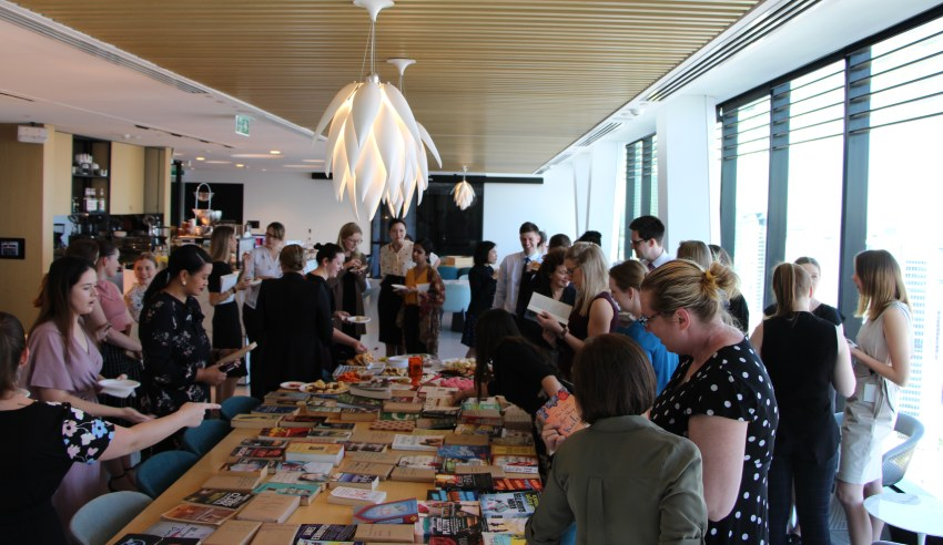 BigLaw firm takes part in Great Book Swap