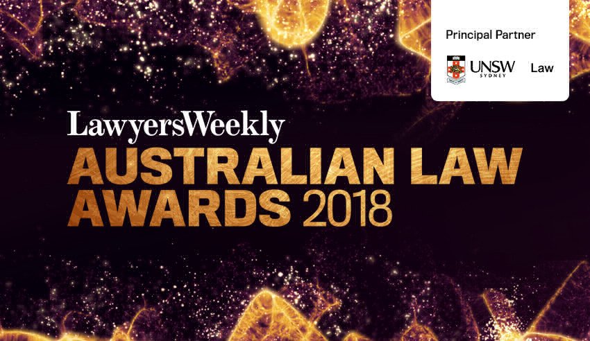 Australian Law Awards 2018