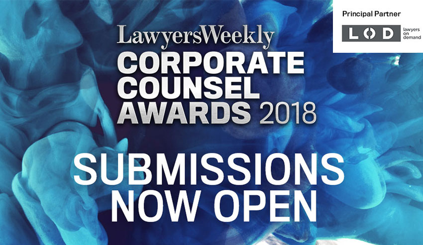 Lawyers Weekly Corporate Counsel Awards