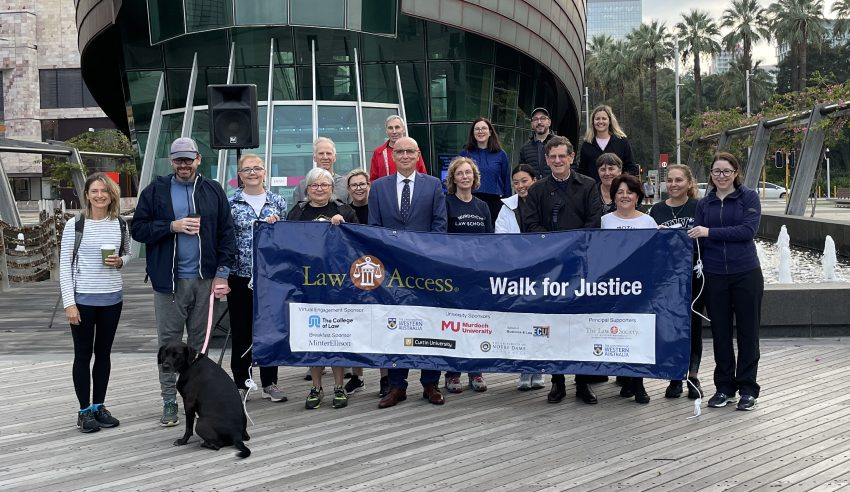 Hundreds celebrate National Pro Bono Day by walking for justice