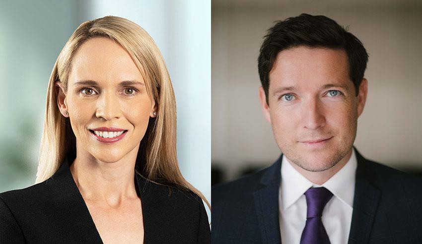 Lynsey Edgar and Alastair Gourlay