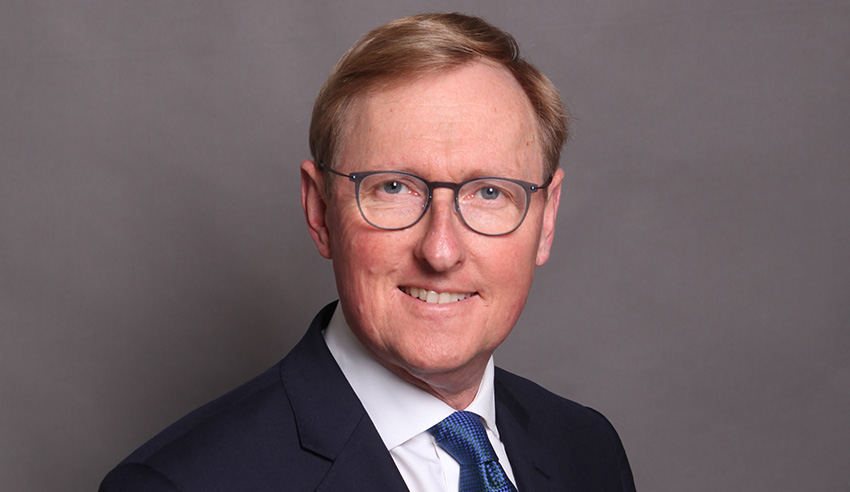 Law Society of NSW CEO Michael Tidball