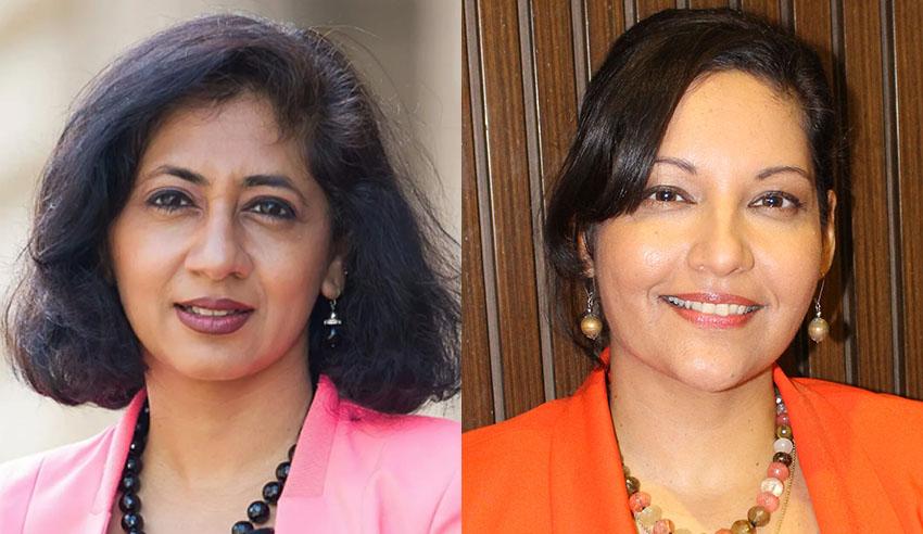 Molina Asthana and Pallavi Sinha