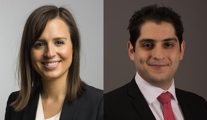 Nicole Pedler and Kam Jamshidi