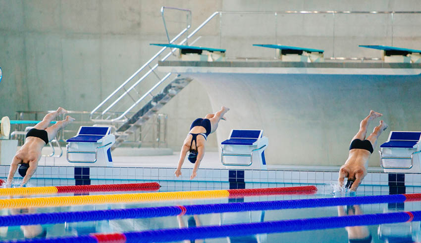 Potential Olympian dives into new opportunities at law school