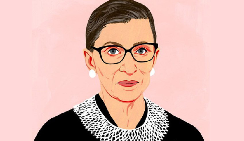 Lessons from RBG for law students