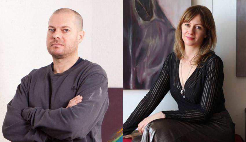 Rhys Lee and Heidi Yardley