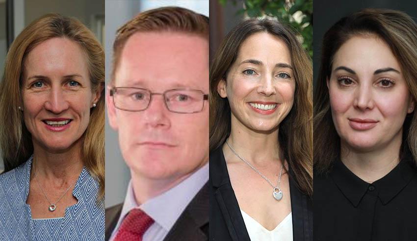 Rachel Scanlon, Craig Emery, Nina Stamell, Kirsty Silbert