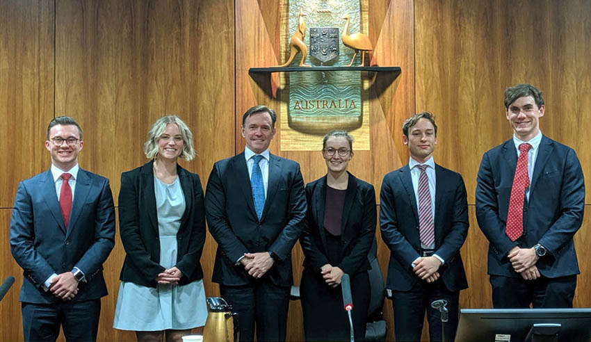 University of Queensland 20th International Maritime Law Arbitration Moot
