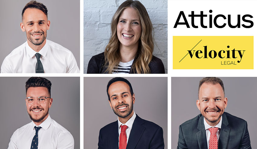 Velocity Legal and Atticus Lawyers have merged