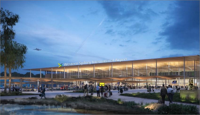 Western Sydney Airport passenger terminal
