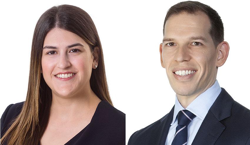 Anthea Karvounaris and Michael Gill