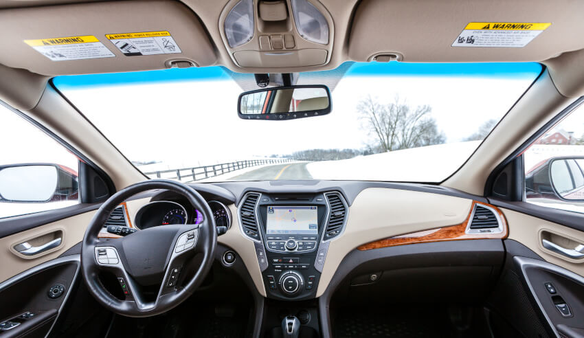 Car, vehicle interior