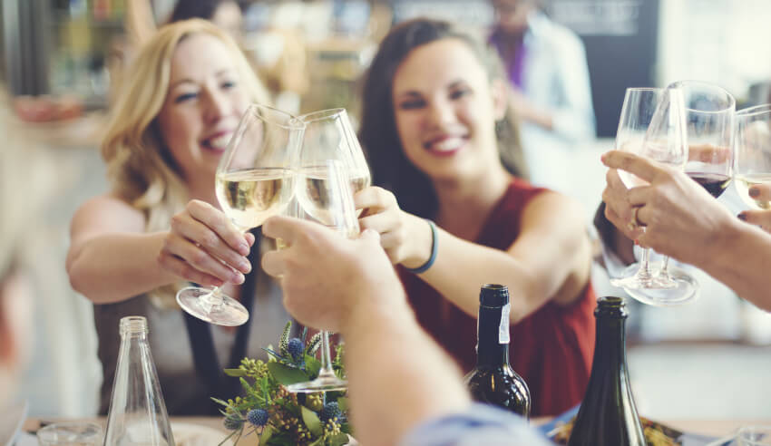 wine celebration of women in law