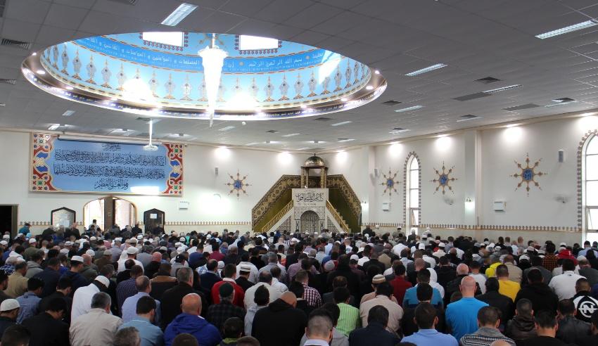 Eid prayer at Lakemba Mosque