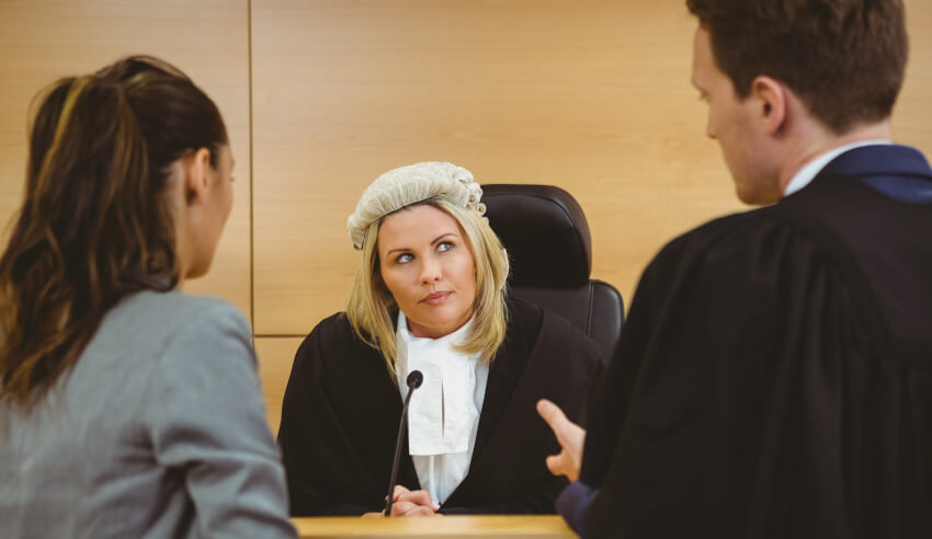 Female barrister