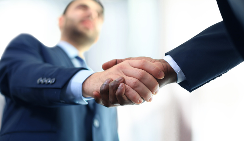 Handshake and appointment of new members of the team