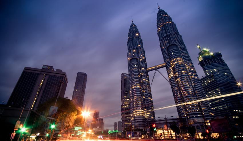 Malaysian firm, Malaysia, Twin towers