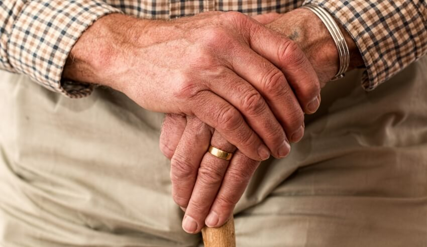 Elder, old man, elder abuse