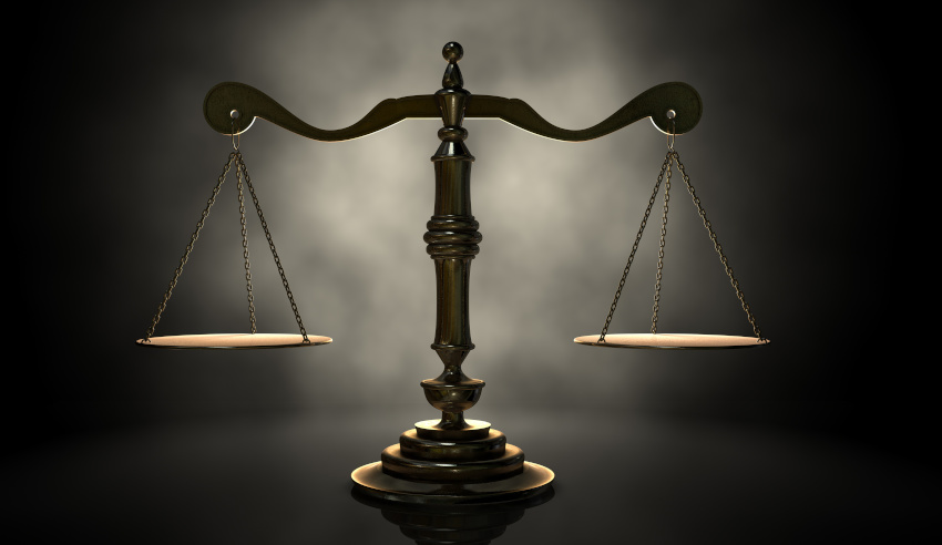 Scales of Justice, court, struggle