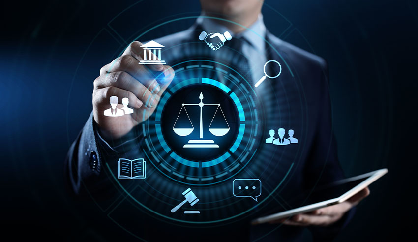 What technologies are law departments using?