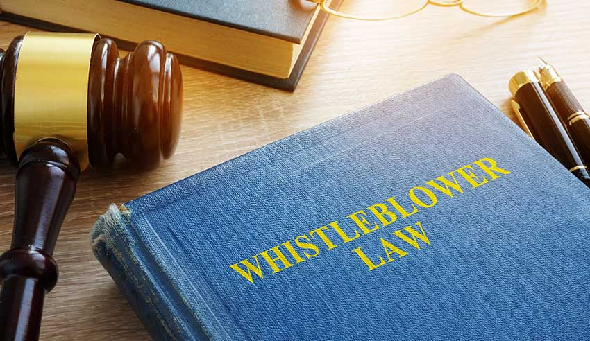 Whistleblowing law