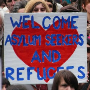 protest asylum seekers