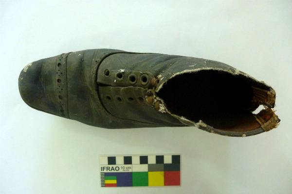 Blamoral ankle boot discovered in NSW Children's Court
