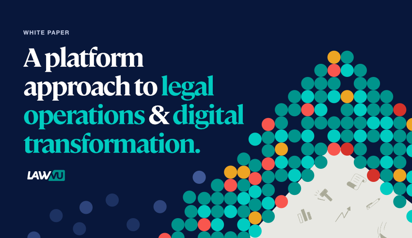platform approach to legal operations