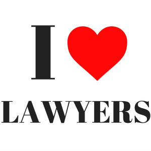 I love lawyers