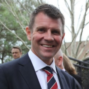 Mike Baird Premier New South Wales