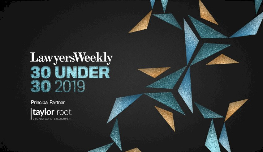 30 Under 30 finalists revealed - Lawyers Weekly