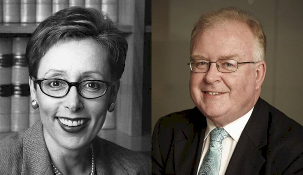Ruth McColl AO and Robert Fitzgerald AM