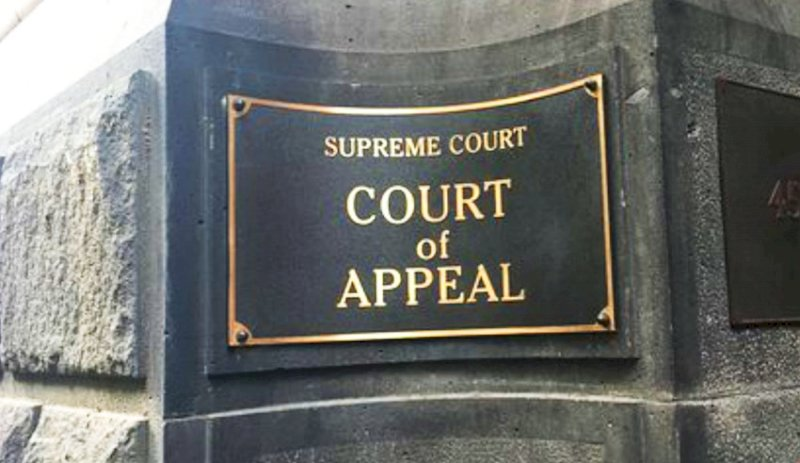 Victoria Court of Appeal sees new judge