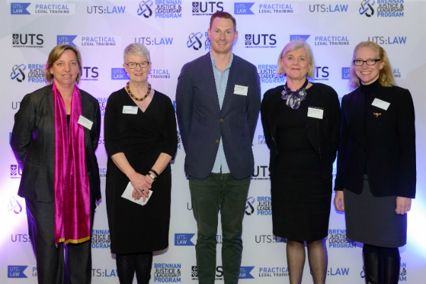 Panelists of the UTSpeaks Future of the Legal Profession event, August 2016