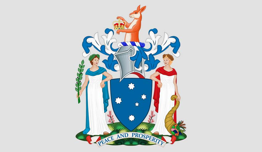 VICTORIAN COAT OF ARMS